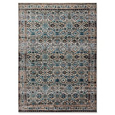 image of Magnolia Home By Joanna Gaines Kivi Rug in Fog/Multi
