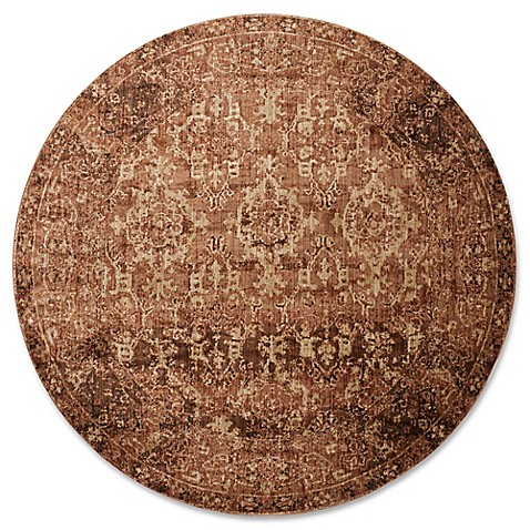 Magnolia Home By Joanna Gaines Kivi Rug In Sand Copper