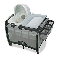 image of Graco Pack 'n Play Quick Connect Portable Bouncer with Bassinet in Albie