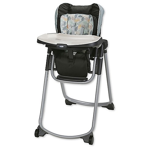 Graco 174 Slim Spaces Folding High Chair In Trail Bed