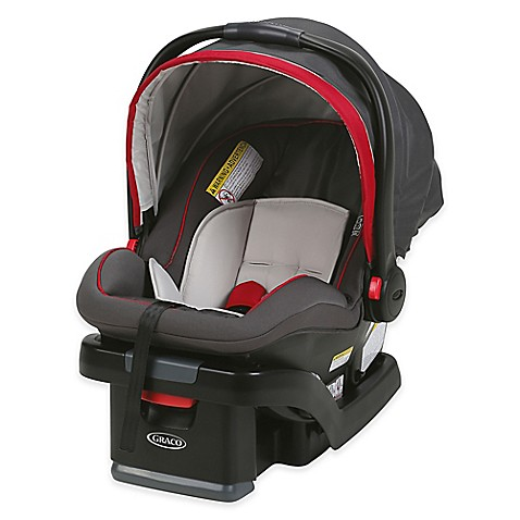 buy graco snugride snuglock 35 infant car seat in chili red from bed bath beyond. Black Bedroom Furniture Sets. Home Design Ideas