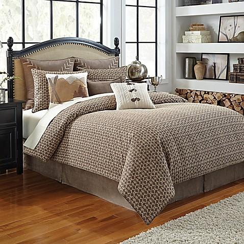 Croscill 174 Aspen Comforter Set In Taupe Bed Bath Amp Beyond