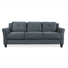 image of Lifestyle Solutions Wycliff Sofa in Dark Grey
