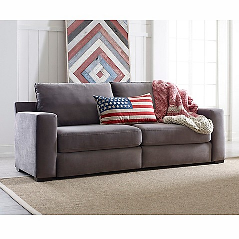 Unique Tommy Hilfiger® Elyse Sofa in Grey - Bed Bath & Beyond NQ97