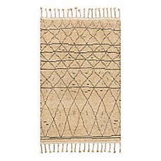 image of Magnolia Home by Joanna Gaines Tulum Rug in Natural/Grey