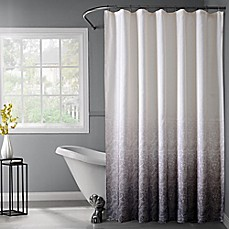 image of lace ombr shower curtain