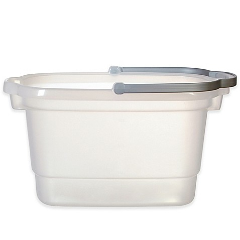 Casabella 174 4 Gallon Rectangular Bucket Bed Bath Amp Beyond