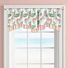 image of Colordrift Flamingo Window Valance