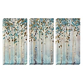 "Multi Piece Canvas Wall Art dream forest"" 3-piece canvas wall art set - bed bath & beyond"