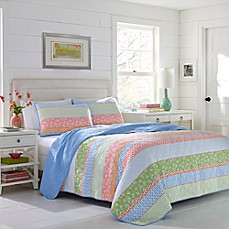 image of Poppy & Fritz® Charlie Quilt Set in Light Blue