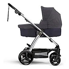 image of Mama & Papas Sola2 Stroller in Denim with Bassinett