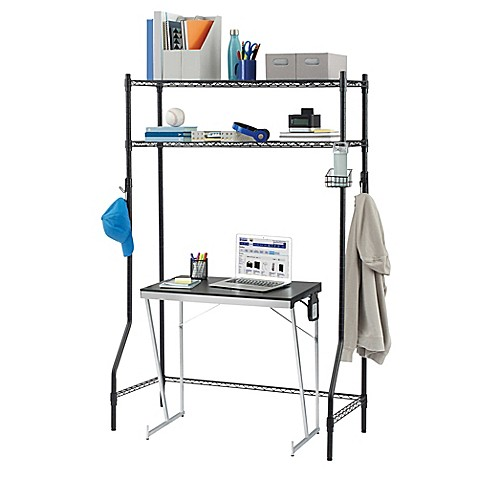 Superb Equip Your Space 2 Tier Dorm Space Saver In Black