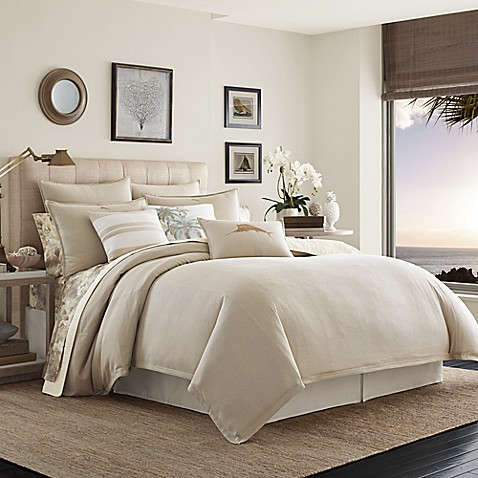 Tommy bahama shoreline duvet cover set bed bath beyond tommy bahamareg shoreline duvet cover set gumiabroncs Gallery