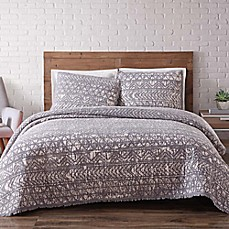 image of Brooklyn Loom Sand-Washed Reversible Quilt Set