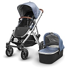 image of UPPAbaby® VISTA 2017 Stroller with Leather Handles in Henry