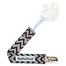 image of BooginHead Seattle Chevron PaciGrip Pacifier Strap