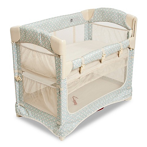 Arm's Reach® Mini Ezee™ 2-in-1 Co-Sleeper® in Turquoise