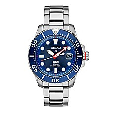 image of Seiko Prospex Men's 43.5mm PADI™ Special Edition Watch in Stainless Steel