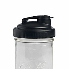 image of reCAP POUR Wide Mouth Mason Jar Lid