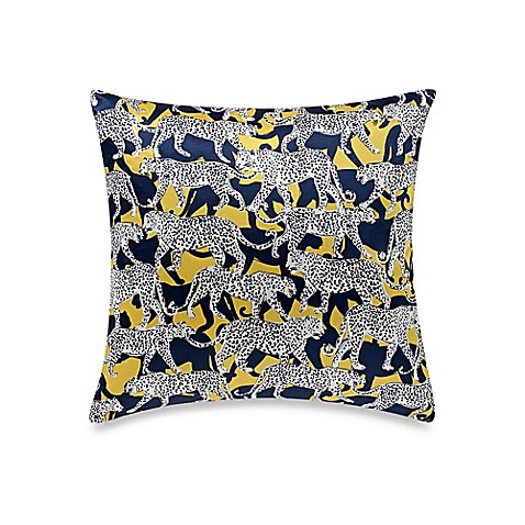 Throw Pillows One Kings Lane : kate spade new York Leopard Throw Pillow - Bed Bath & Beyond
