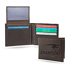 image of NFL New England Patriots Super Bowl LI Champions Leather Shield Wallet