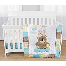 image of Baby's First By Nemcor Gingham Parade Crib Bedding Collection