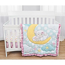 image of Baby's First by Nemcor Sleepy Little Lamb Crib Bedding Collection