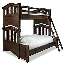 image of smartstuff™ Classics 4.0 Twin-Over-Full Bunk Bed in Cherry