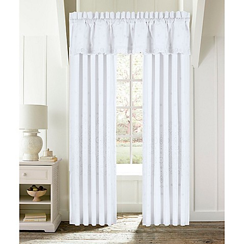 Piper Amp Wright Lucy 84 Inch Rod Pocket Window Curtain