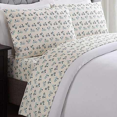 Buy truly soft bicycles full sheet set in white from bed for How to buy soft sheets