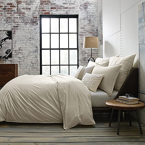 Buy Kenneth Cole Escape Twin Duvet Cover In Stone From Bed