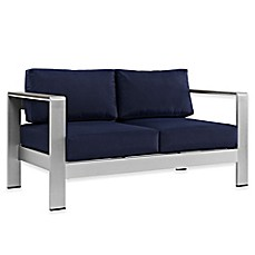 image of Modway Shore Outdoor Patio Loveseat