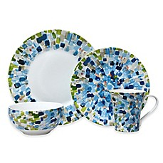 image of 222 Fifth Solena 16-Piece Dinnerware Set in Blue