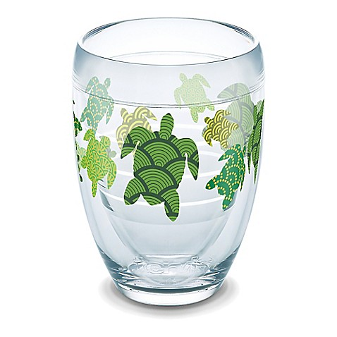 Tervis turtle pattern 9 oz stemless wine glass bed bath beyond - Insulated stemless wine glasses ...