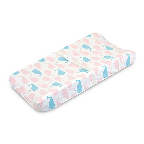Just Born® Sail Into Your Dreams Changing Pad Cover in Pink