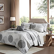 image of Madison Park Essentials Knowles Complete Coverlet Set