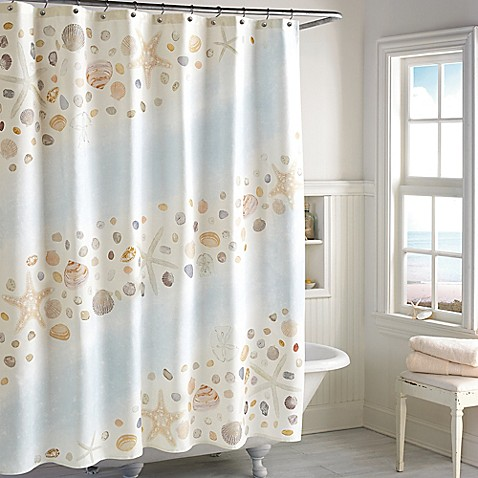 Buy Pebble Beach Shower Curtain From Bed Bath Amp Beyond