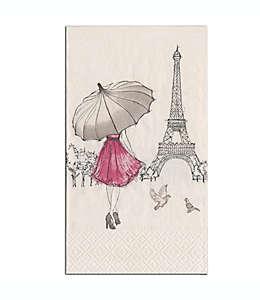 Toallas desechables de papel Design Design Inc. Eiffel Tower 15 piezas