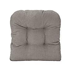 image of therapedic memory foam chair pad - Chair Pads
