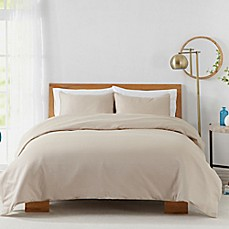 image of 450-Thread-Count Cotton Sateen Duvet Cover Set