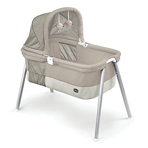 Chicco® Lullago Deluxe Travel Crib in Taupe