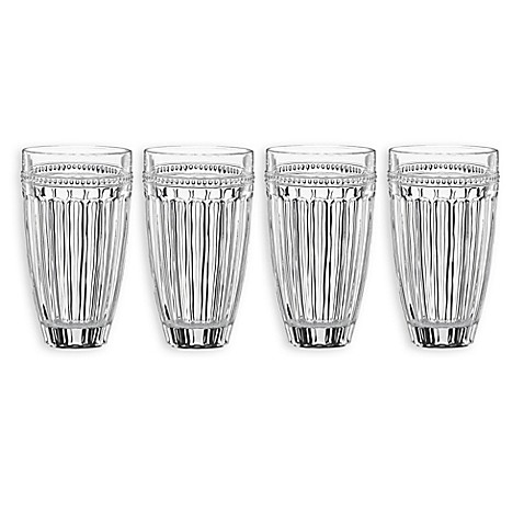 Lenox® French Perle™ Highball Glasses (Set of 4)