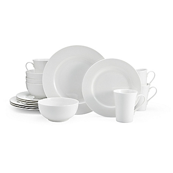 White Dinnerware, Porcelain Dinnerware Sets - Bed Bath & Beyond