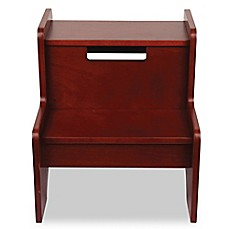 image of Wildkin Kid's Two Step Stool in Cherry