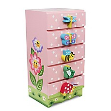 image of Teamson Fantasy Fields Magic Garden Jewelry Box