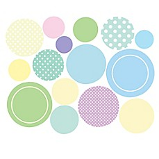 image of Wallies Baby Dots Peel & Stick Wall Decals