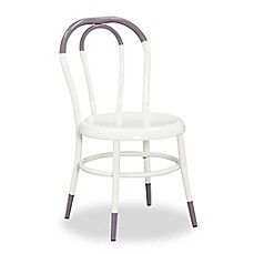image of Ace Casual Furniture Ellie™ Kids Bistro 2-Piece Chairs Set in White/Dusty Purple