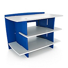 Image Of Legare Race Car Collection Gaming Stand In Blue