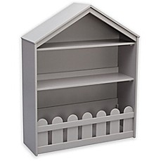 image of Serta Happy Home Storage Bookcase in Grey