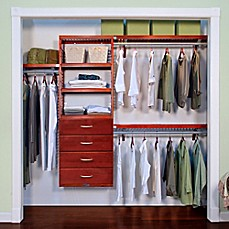 John Louis Home Premier Closet Organizer With 4 Drawers